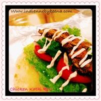 Chicken Kathi Rolls