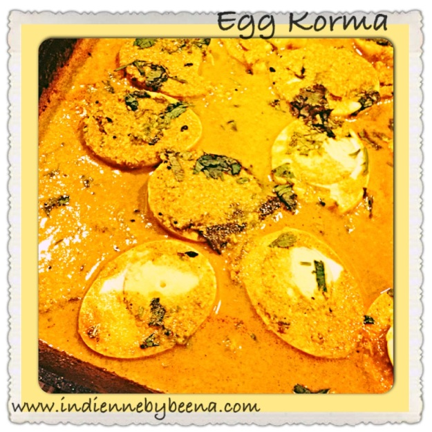 egg korma